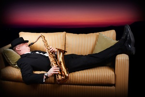 Mobile hip pocket   sax on the couch